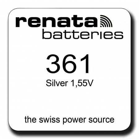 Renata 361 Knopfzelle