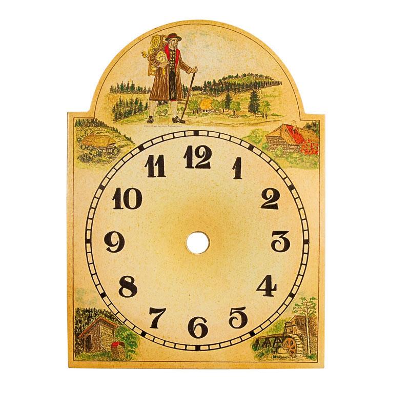 Uhrschild Uhrenträger 75x115mm