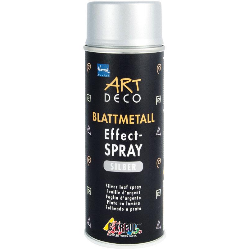 ART DECO Blattmetall Effect-Spray silber 400ml