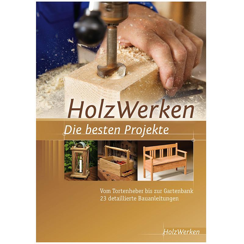 Buch HolzWerken - die besten Projekte