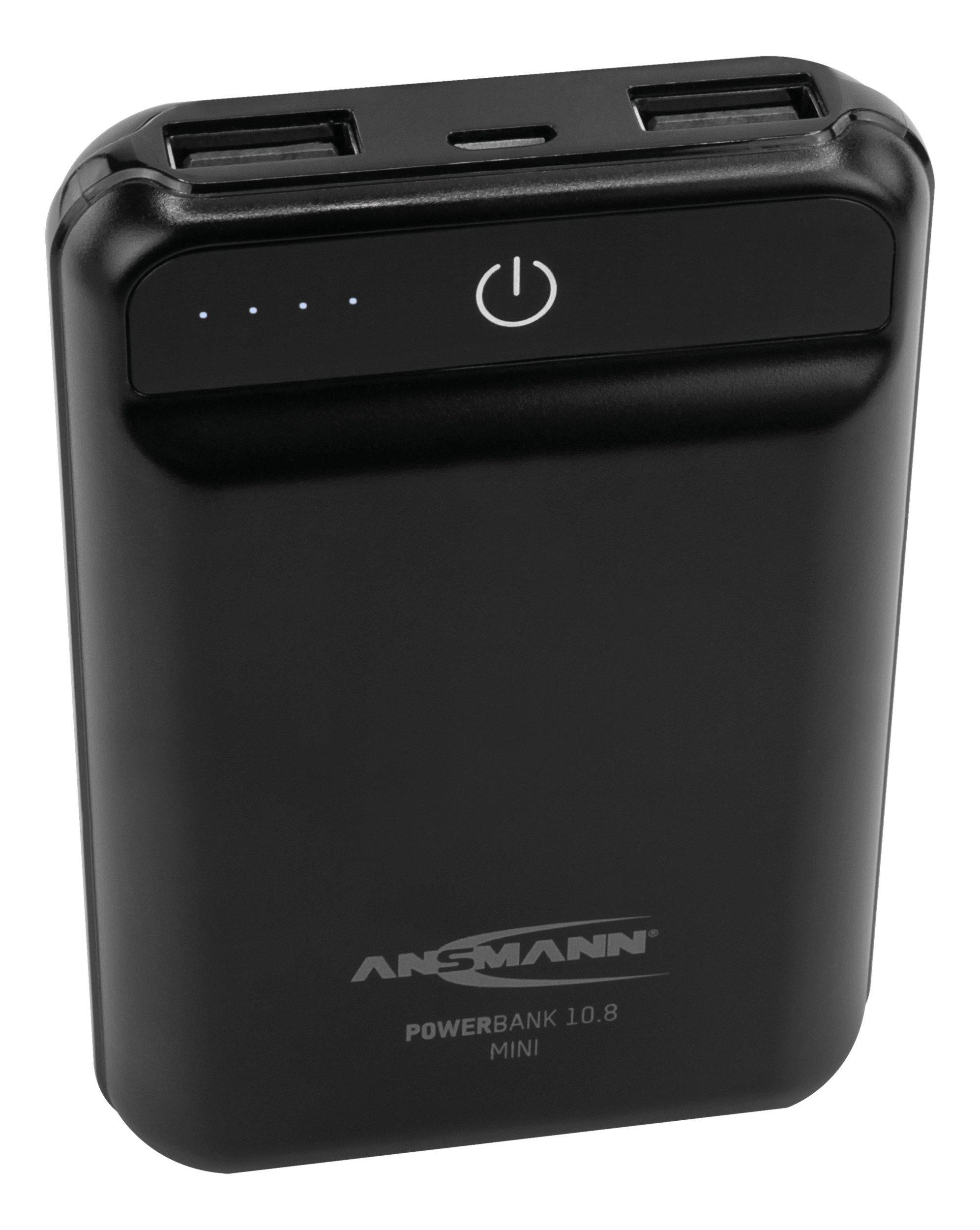 Ansmann Powerbank 10.8 mini -  Beste prijs - kwaliteitverhouding!
