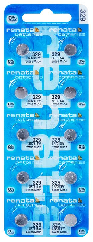 Renata 329 knoopcel multipack