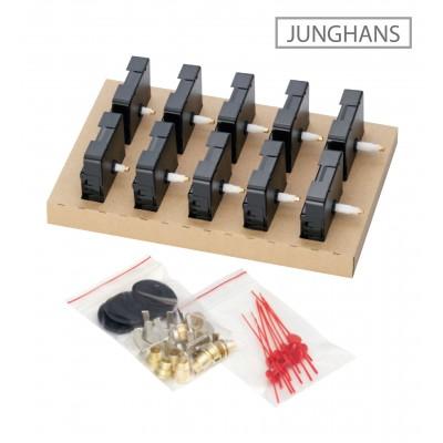 Quarz-Werke Set Junghans 838, ZWL 16,00mm, 10 Stück