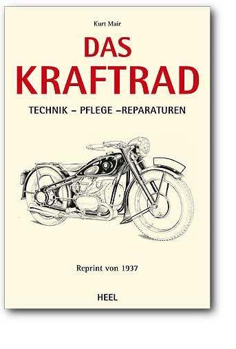 Boek herdruk: Das Kraftrad