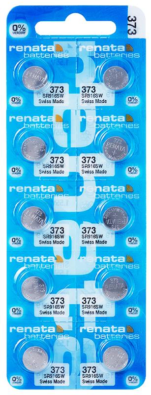 Renata 373 knoopcel multipack