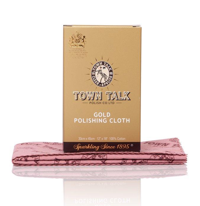 Mr Town Talk Gold Poliertuch 30 cm x 45 cm