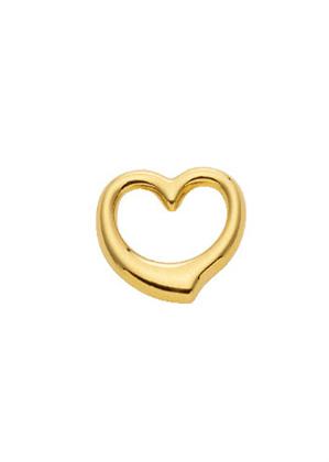 hanger 3 stuks goud 333/gg Swingheart