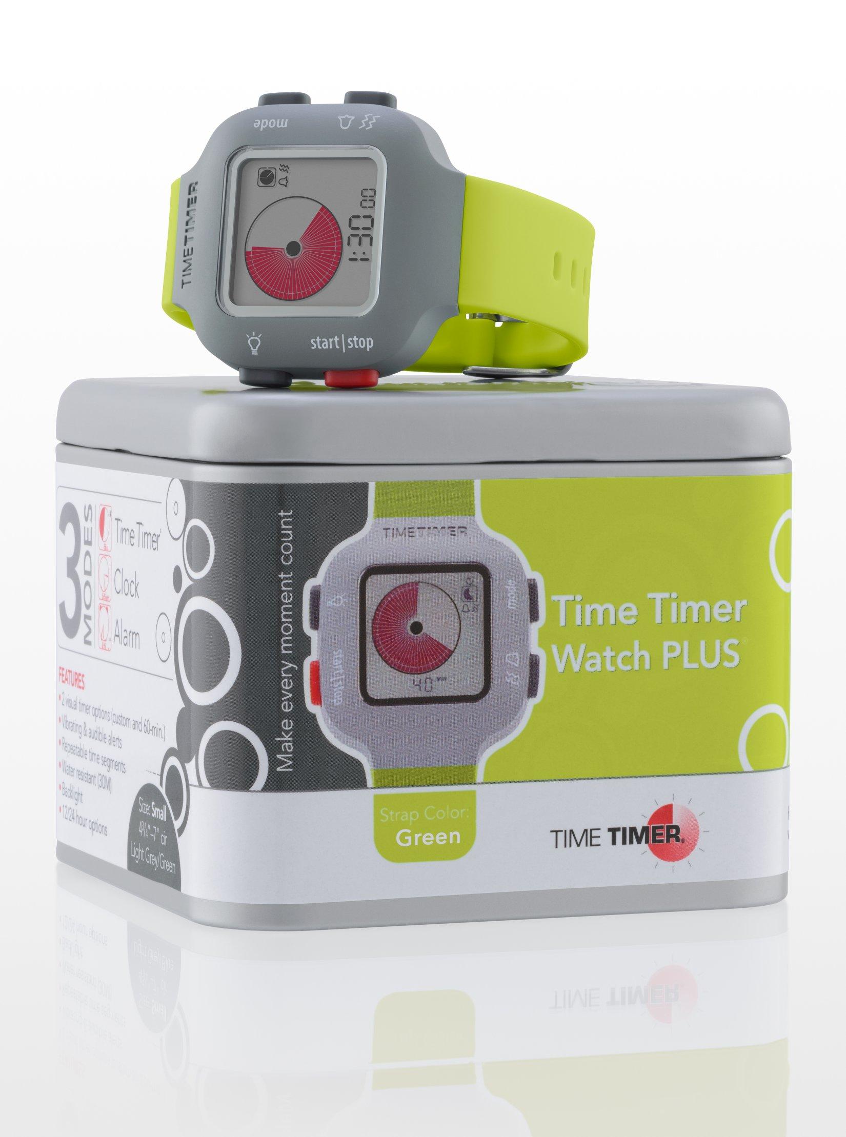 TIME TIMER Armbanduhr, grün