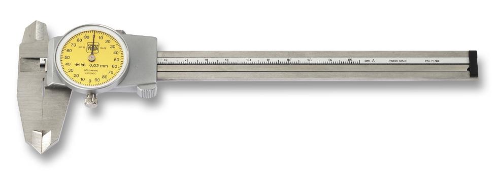Schieblehre 150 mm mit Messuhr Tesa (Mauser)