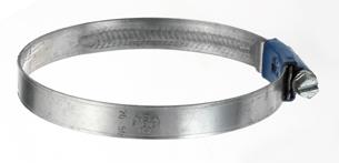 Slangklem voor PVC-spiraalslang
