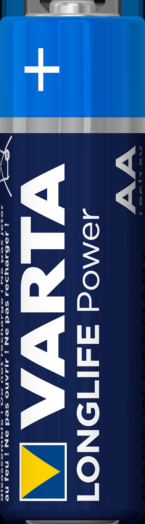 Varta 4906 Batterie, 4er foliert LR6, Mignon, AA