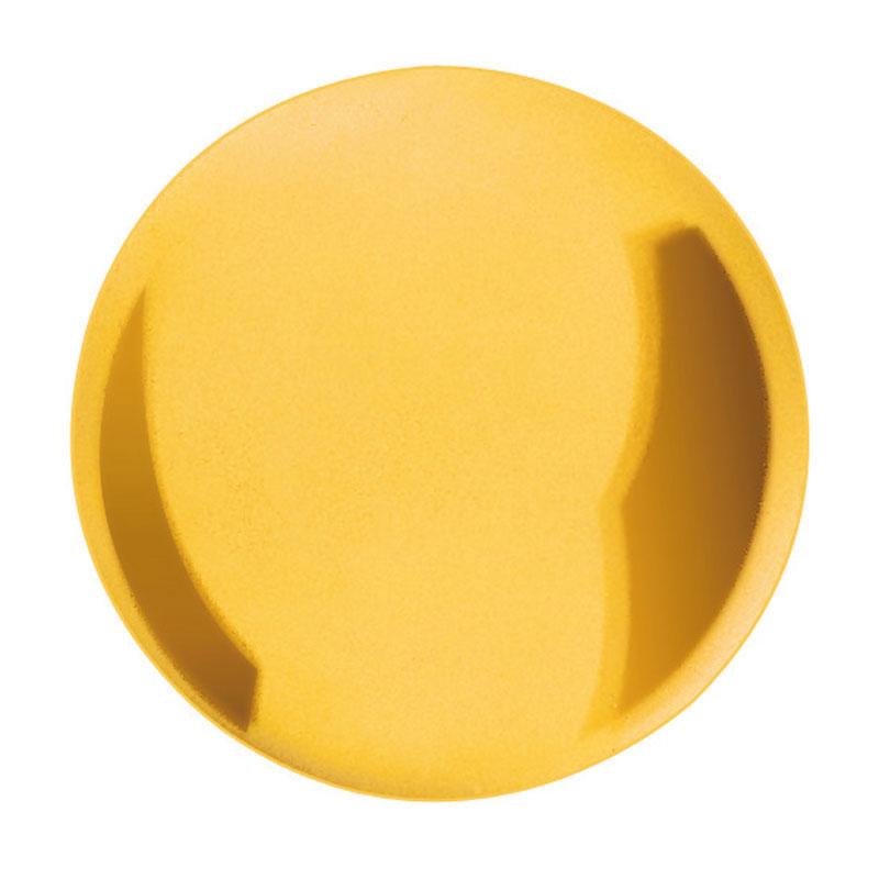Pendellinse für Heimuhr Messing gelb poliert Ø:115 für Stabquerschnitt:19x6 126g
