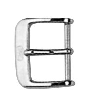 Dornschließe Edelstahl 10mm Stahl poliert