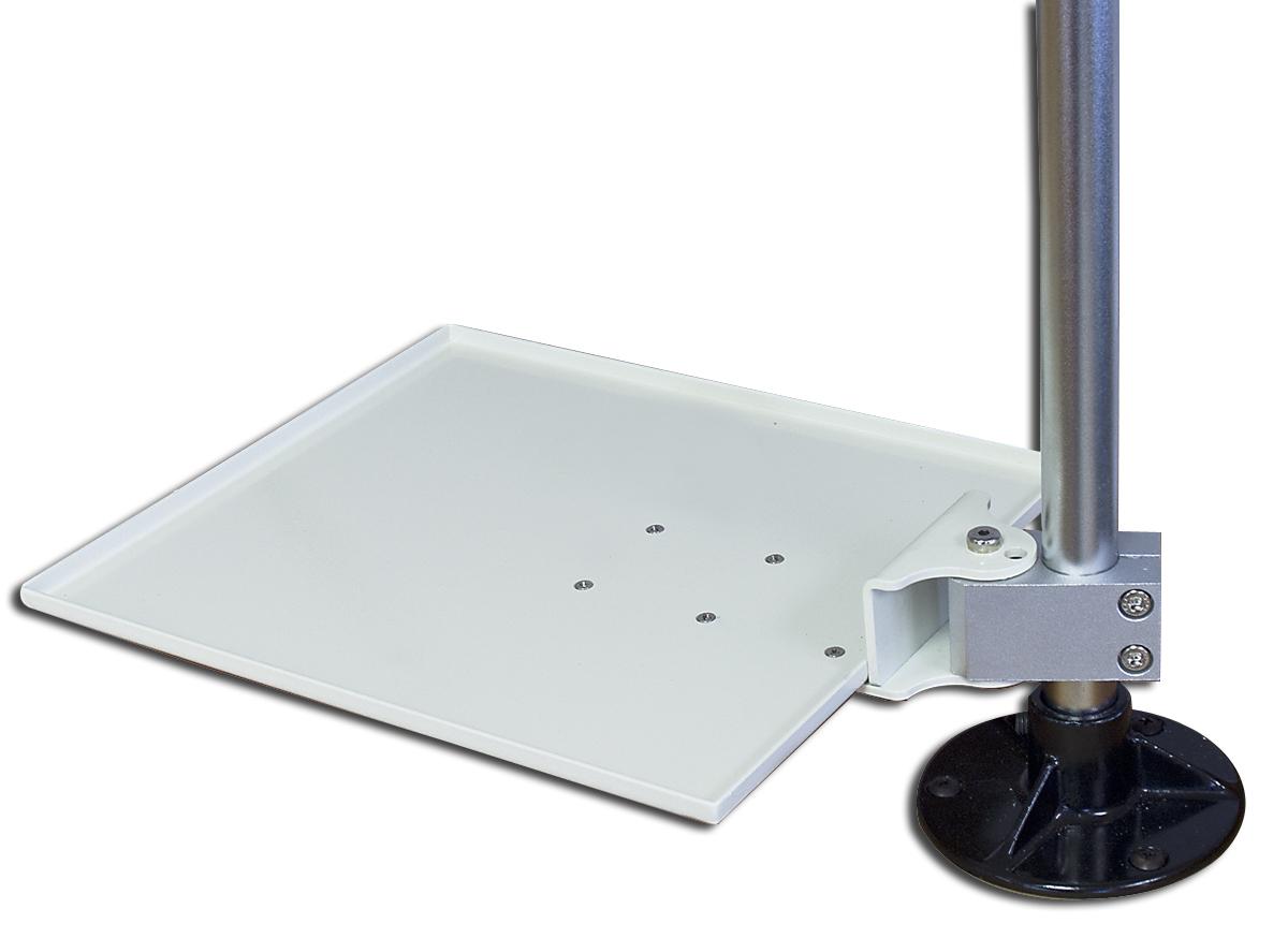 Haltearm mit Platte für Mikromotor