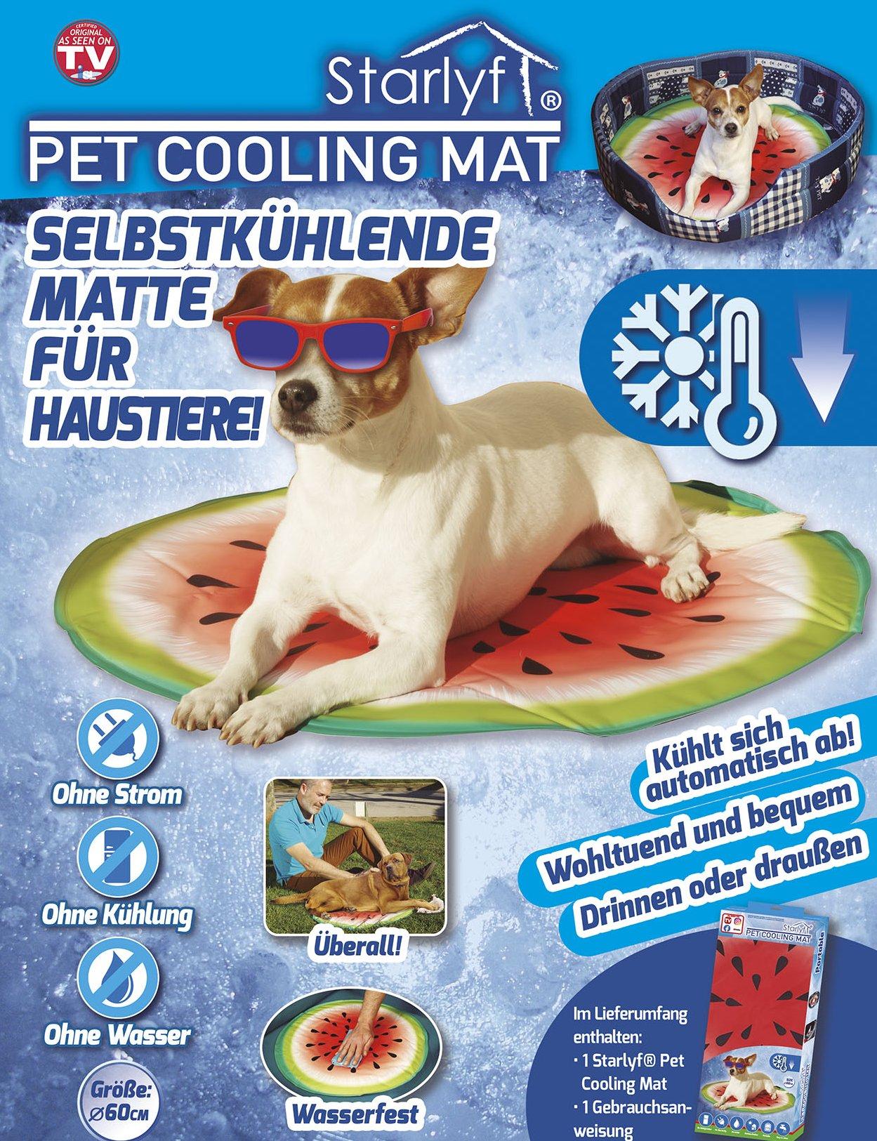 Pet Cooling Mat - Die selbstkühlende Matte für Haustiere