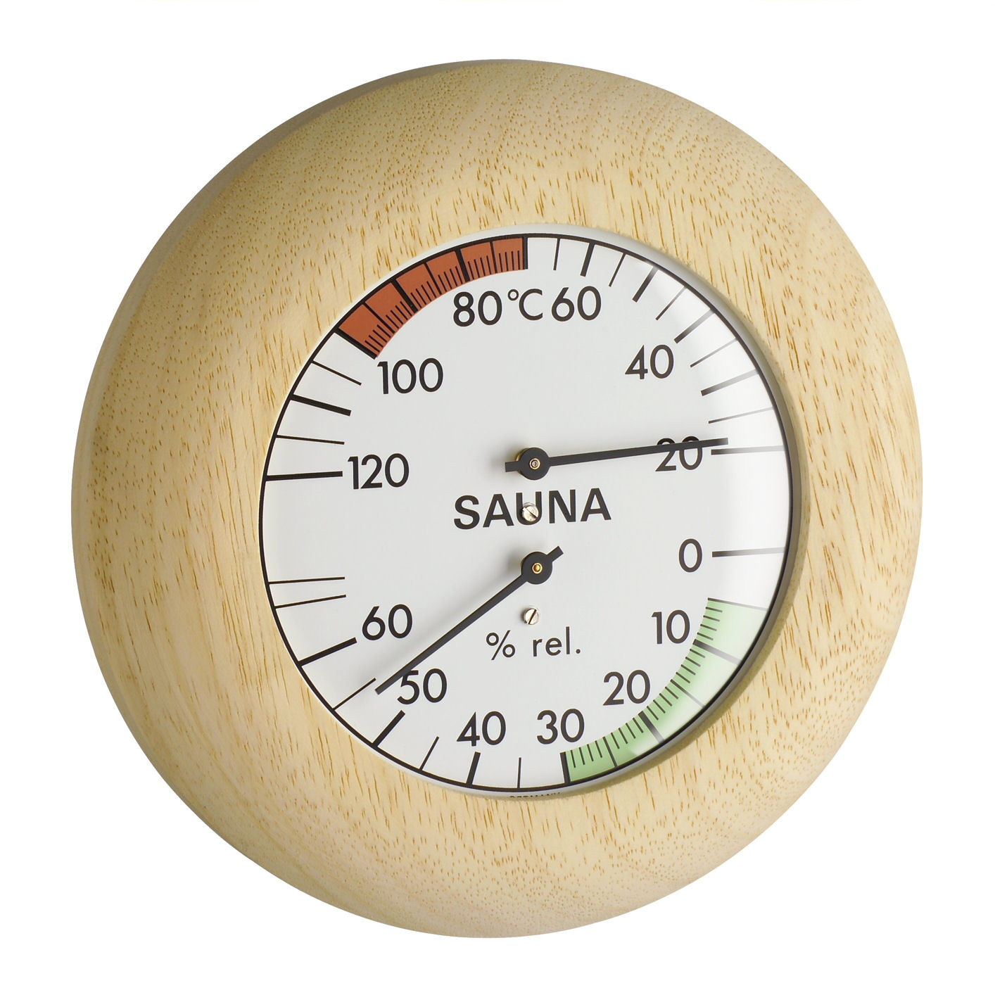 Sauna-Thermo-Hygrometer, Ø 136mm