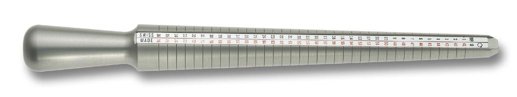 Ringstock aus Aluminium Bergeon