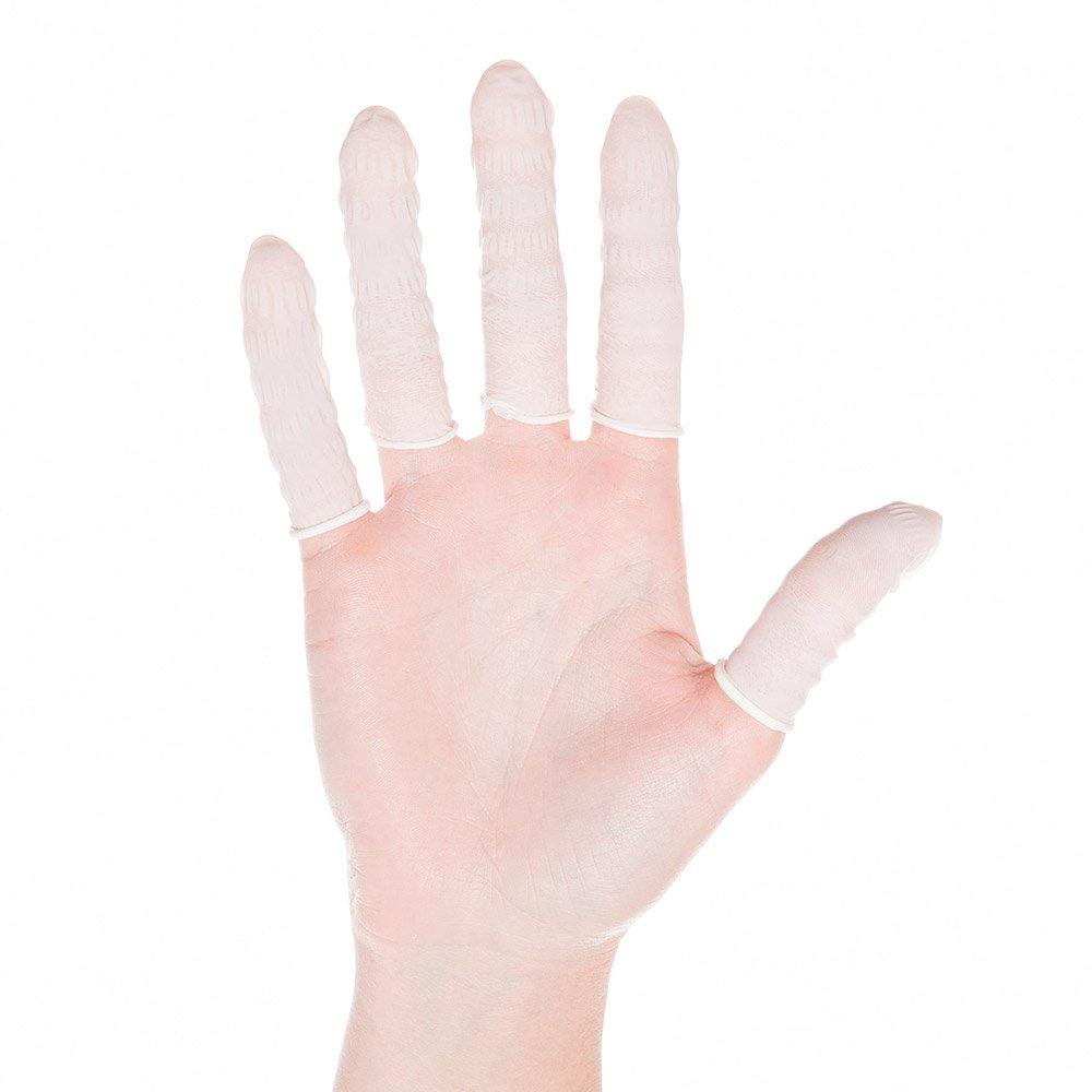 vingerbeschermers nitril, antistatisch, anti-allergisch, maat L - Ø 19mm