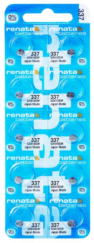 Renata 337 knoopcel multipack