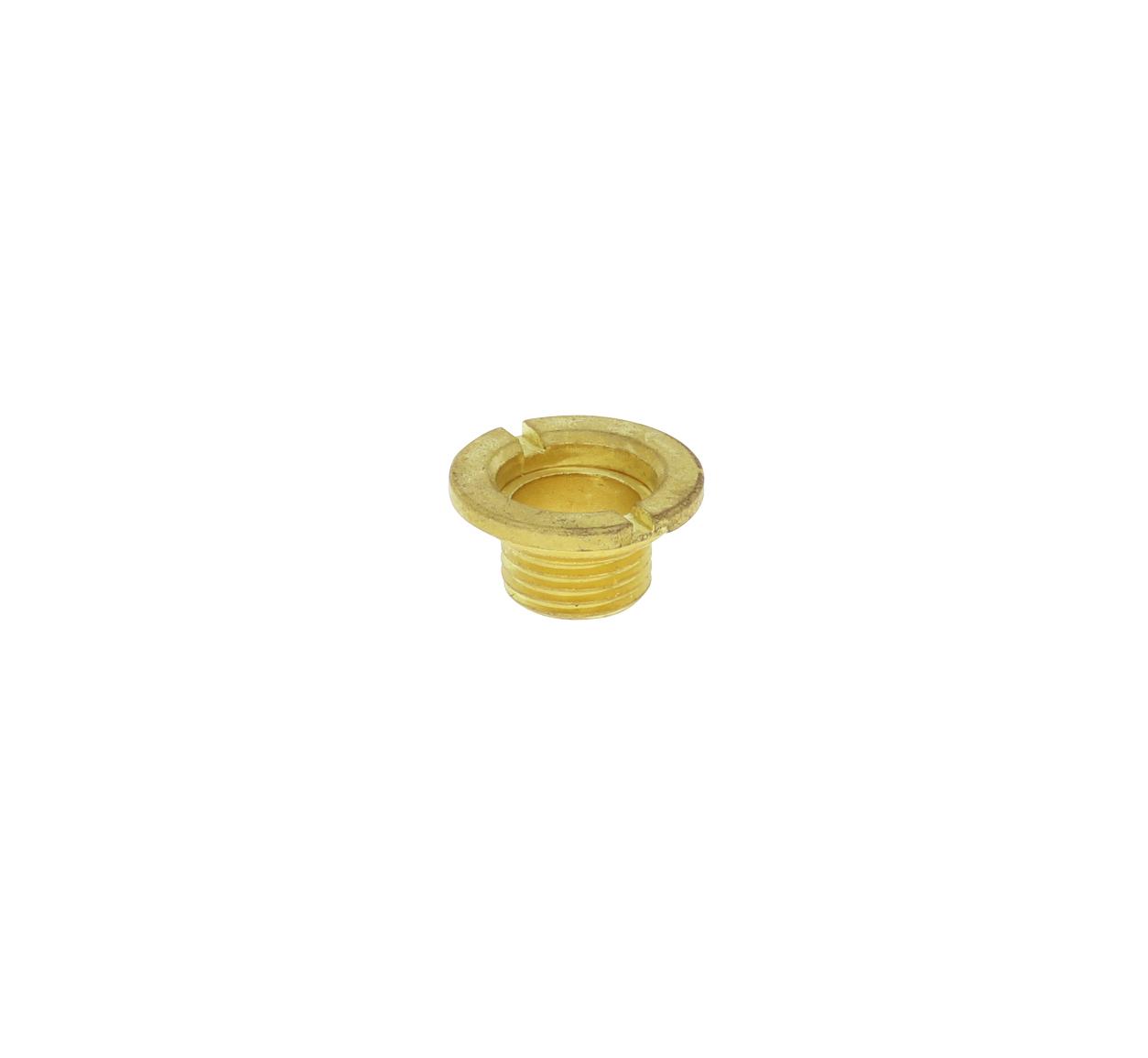 Centrale schroef M8 x 0,75 geel, kort
