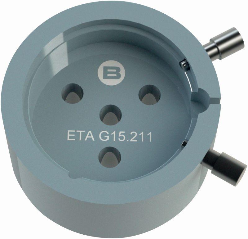 Bergeon Werkhalter 10 1/2 ETA G15.211 Chrono