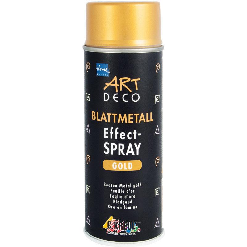 ART DECO Blattmetall Effect-Spray gold 400ml