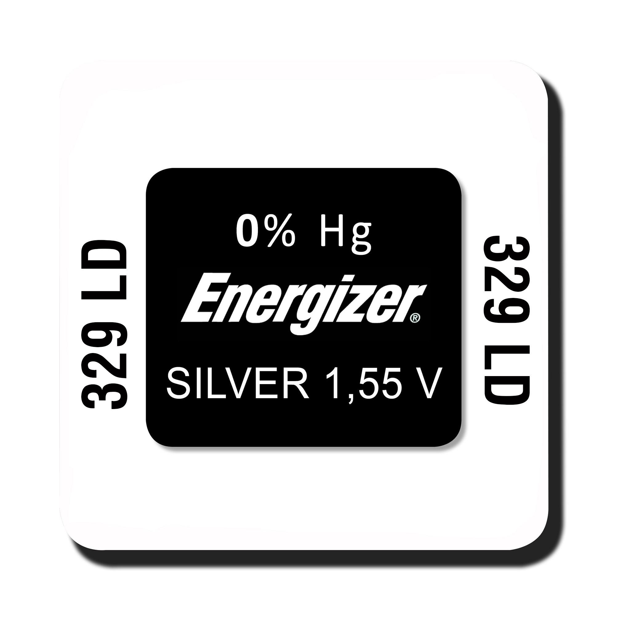 Energizer 329 knoopcel
