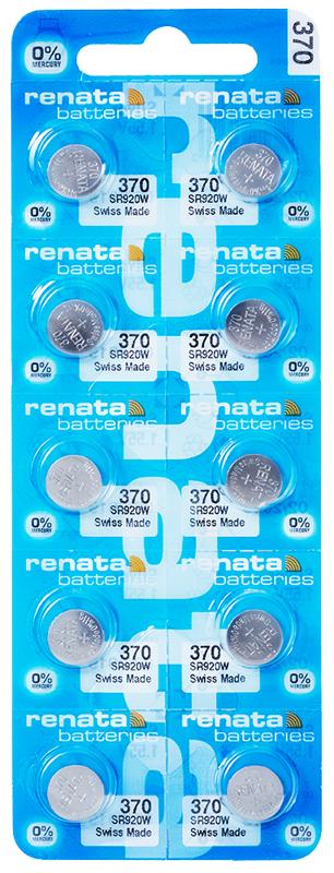 Renata 370 knoopcel multipack