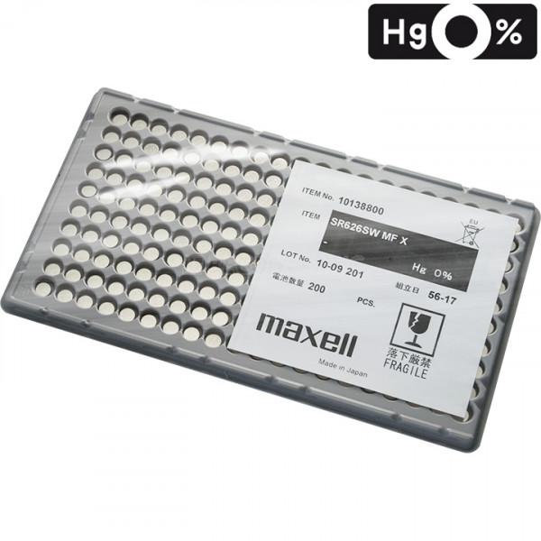 Maxell 364 knoopcel in blister 200 stuks