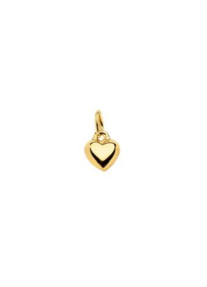 hanger 5 stuks  goud 333/gg hart