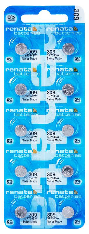 Renata 309 knoopcel multipack
