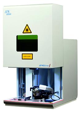 Laser-Graviermschine BN 20 S mit Ringmodul