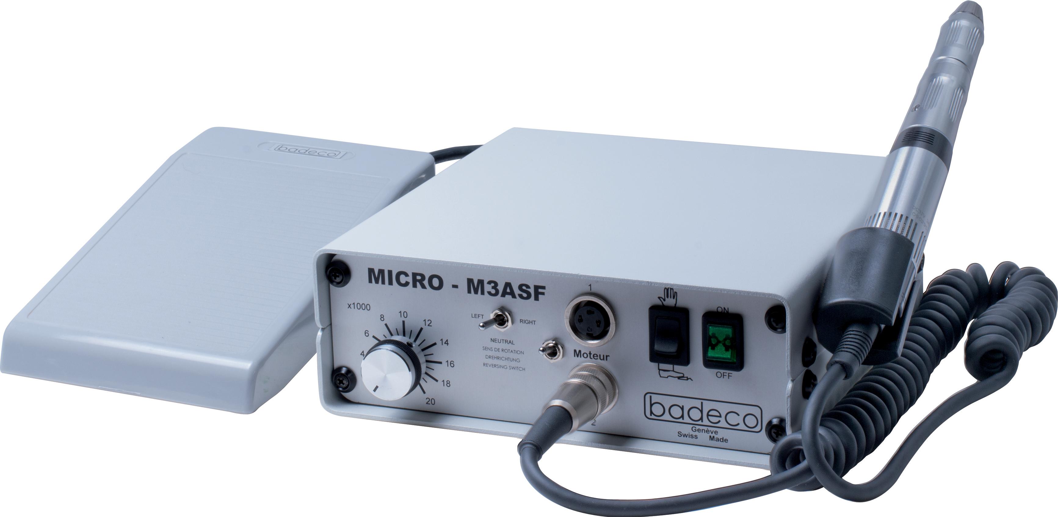 Mikromotor Set Badeco Premium