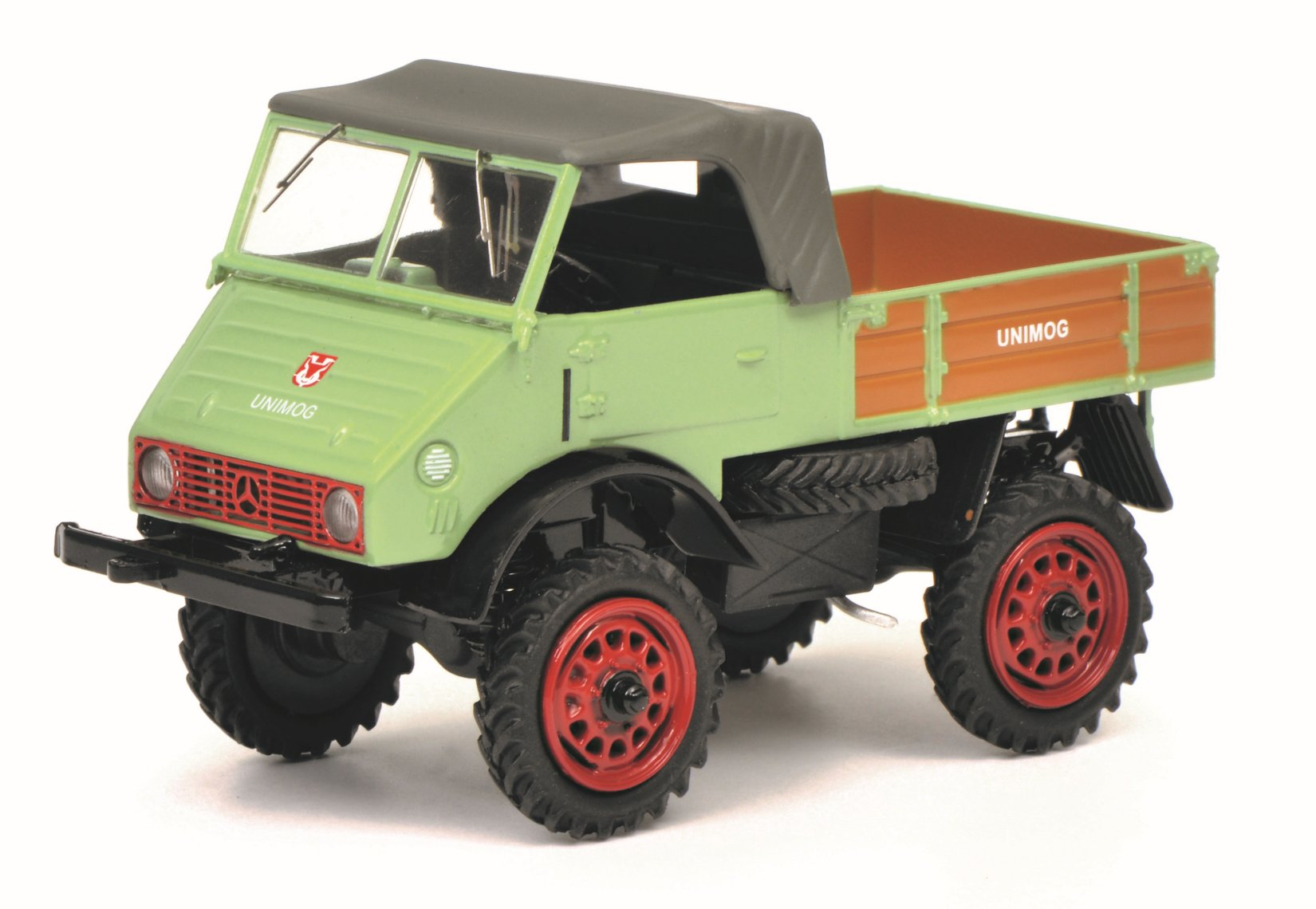 SCHUCO-Modell Unimog 401 - 1:43