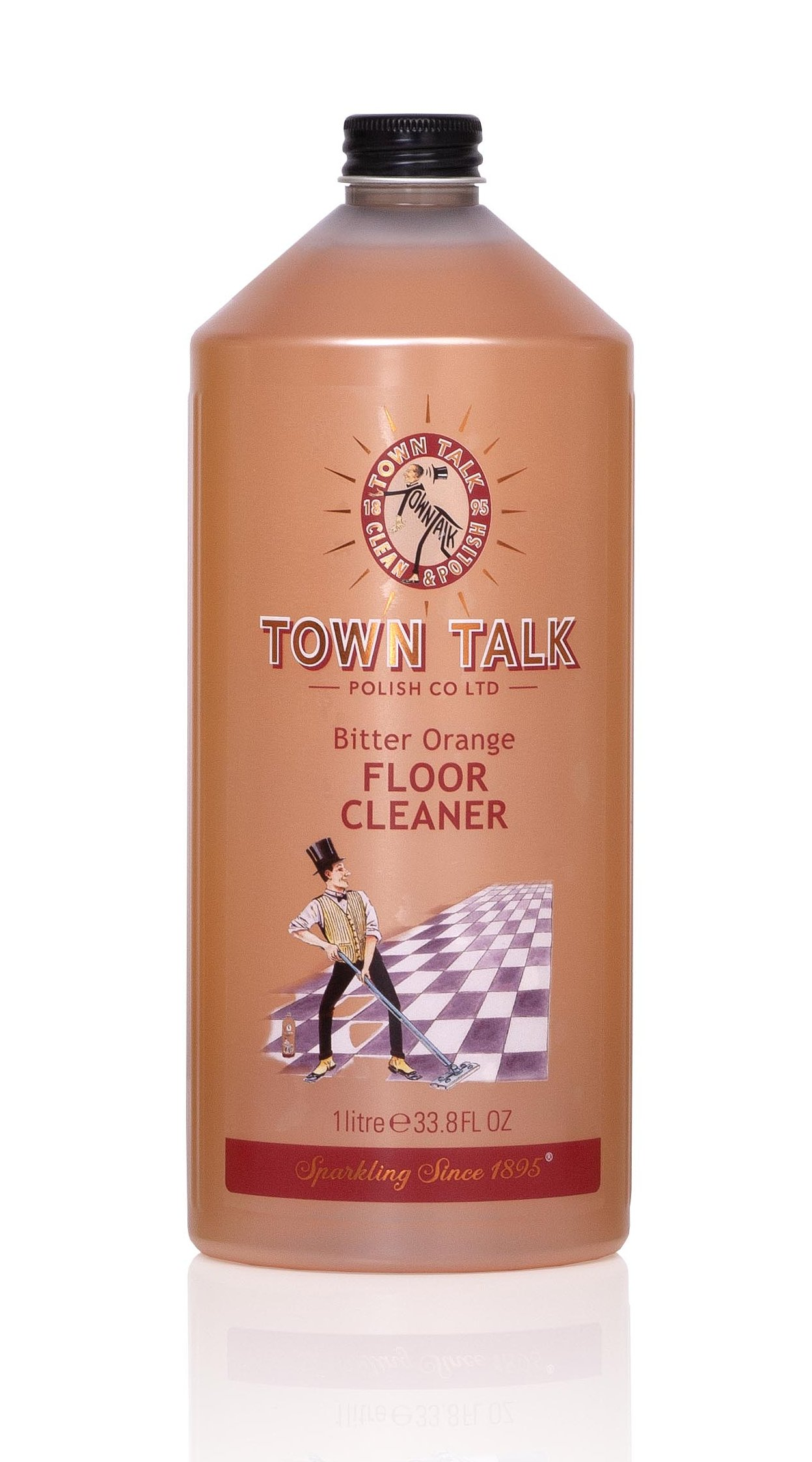 Mr Town Talk Bodenreiniger Bitter Orange 1 Liter