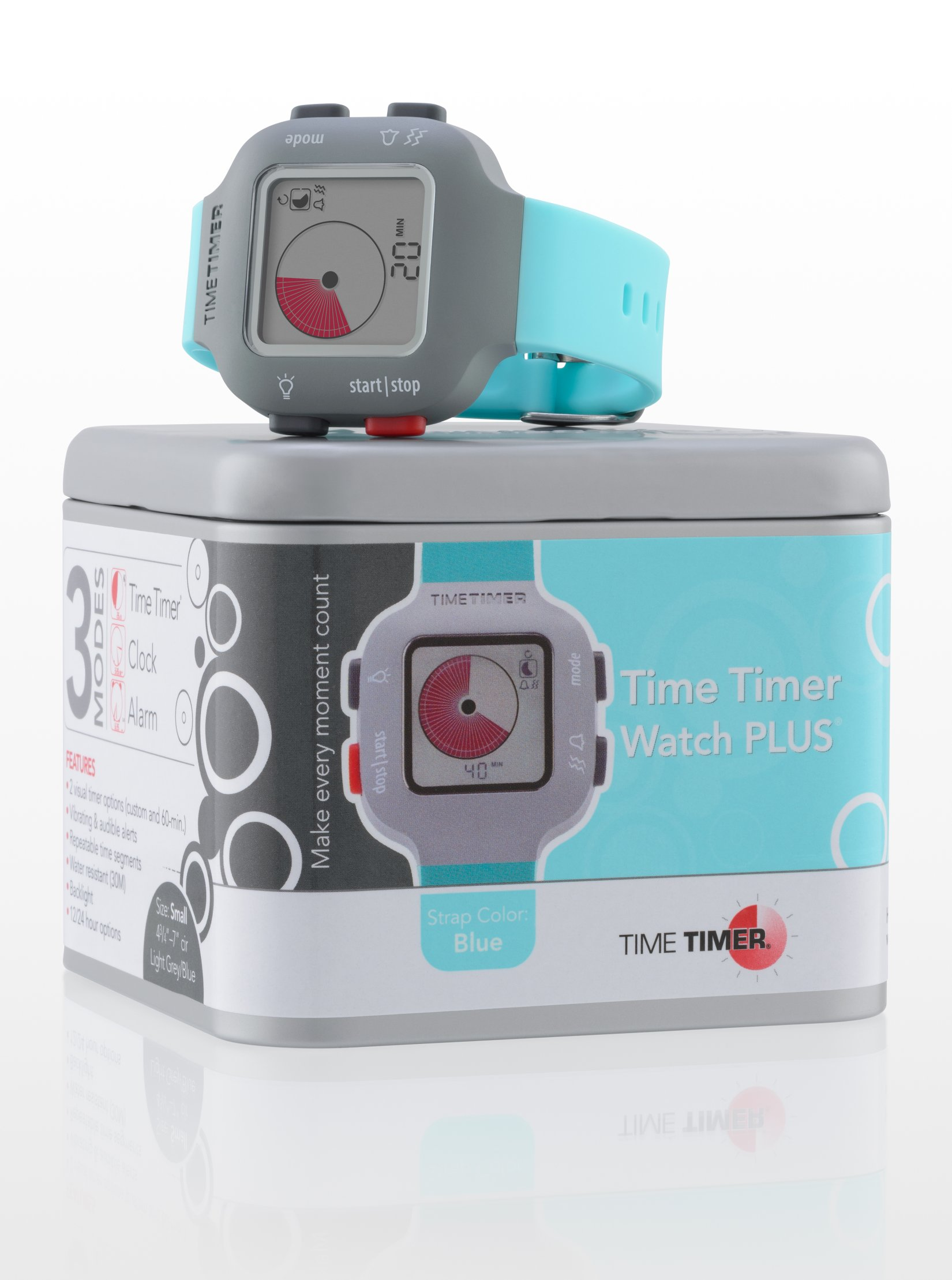 TIME TIMER Armbanduhr, türkis