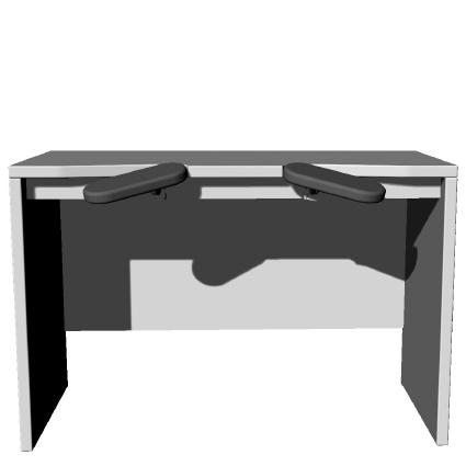 BENCHALIST Uhrmachertisch Modular IV, 3D-Armauflagen