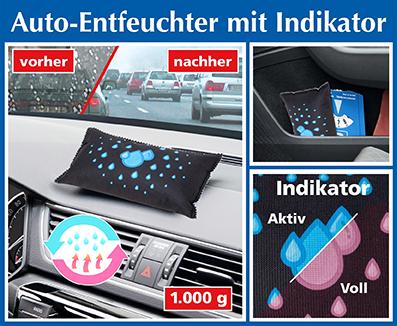 Auto ontvochtiger met indicator, 1 stuk