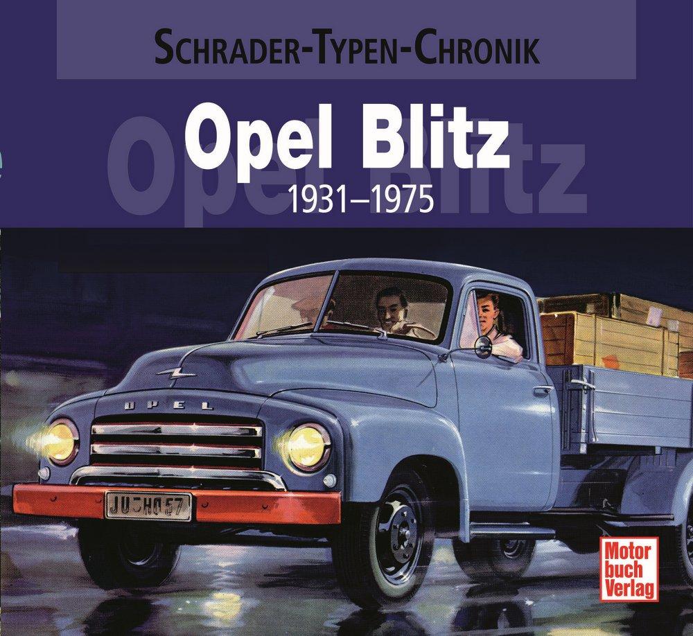 Boek: Opel Blitz - 1931-1975