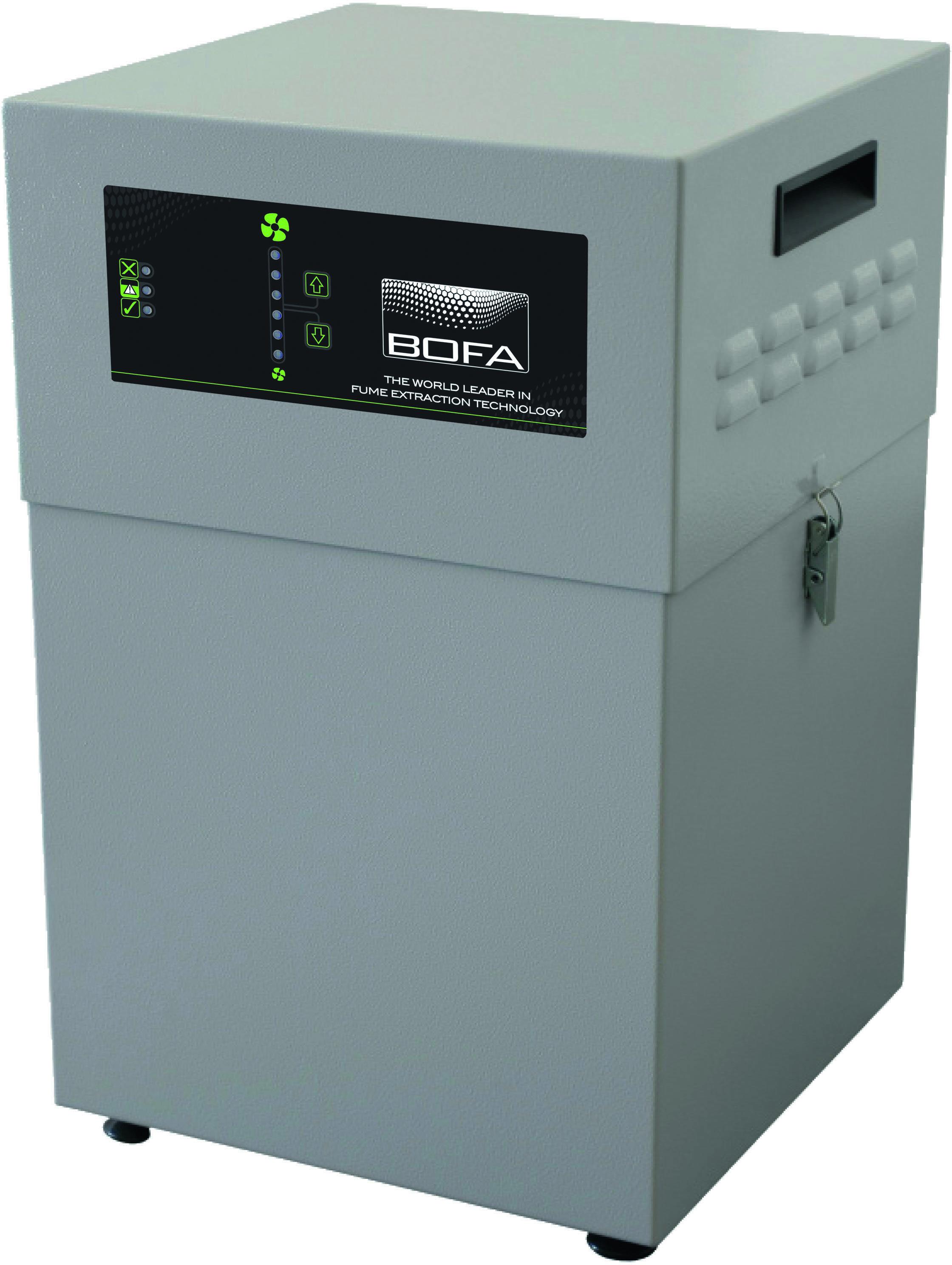 Absauganlage Bofa AD 350 - speziall für Laser-Graviermaschine IMP-L100