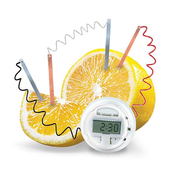 KidzLabs Zitronenuhr
