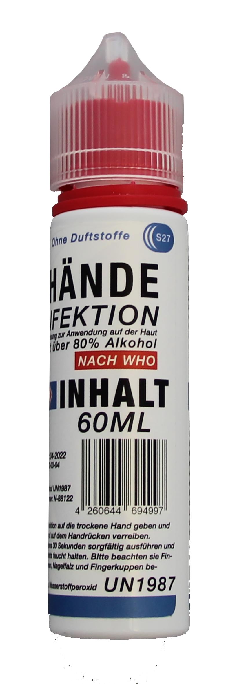Desinfecterende spray voor de handen, 60ml