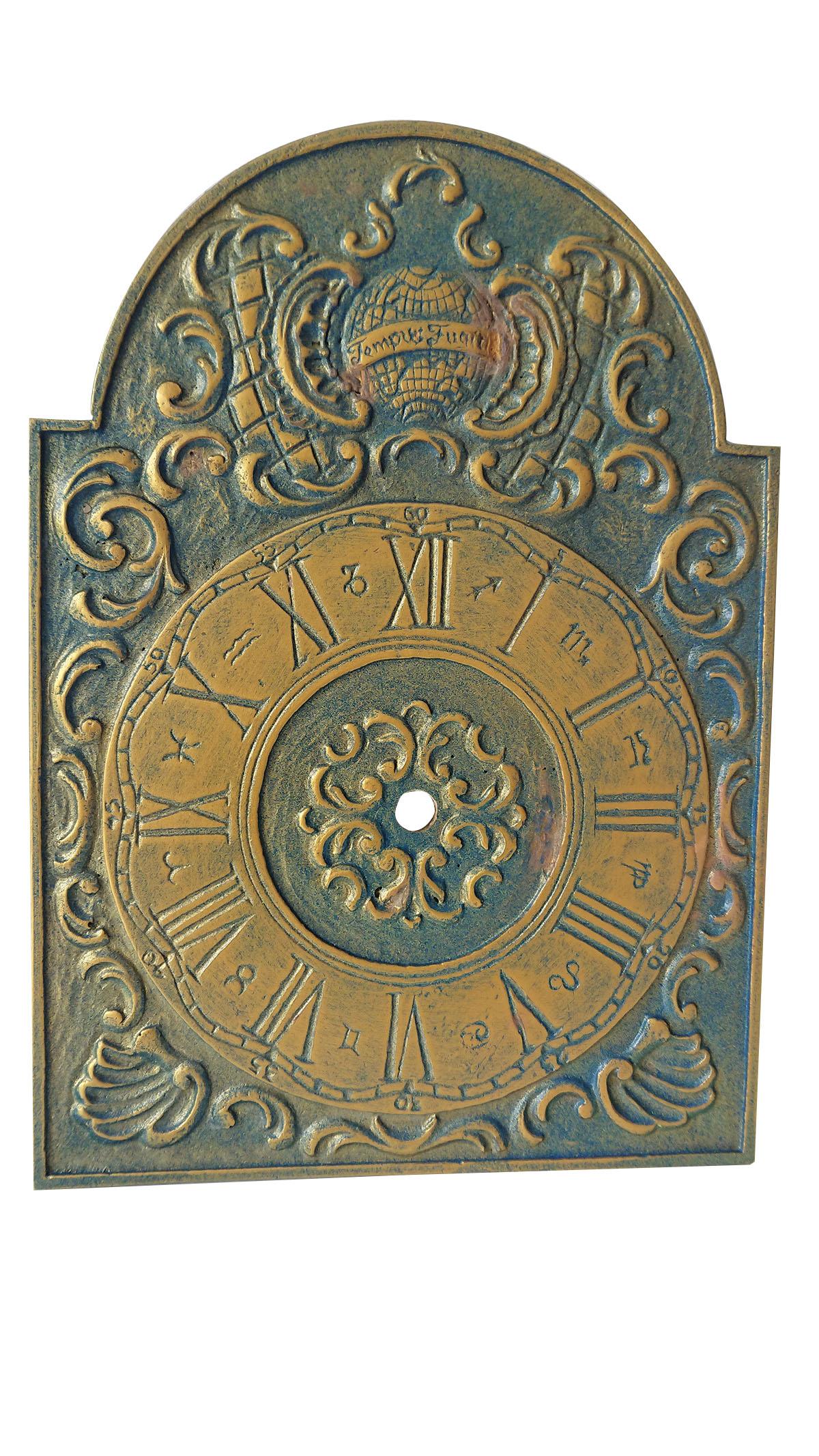 Uhrschild 185 x 260mm