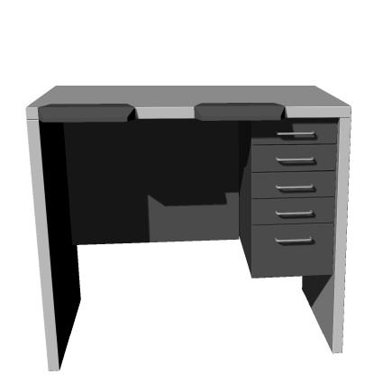 Benchalist Uhrmachertisch Modular IV - Solid I inklusive Container