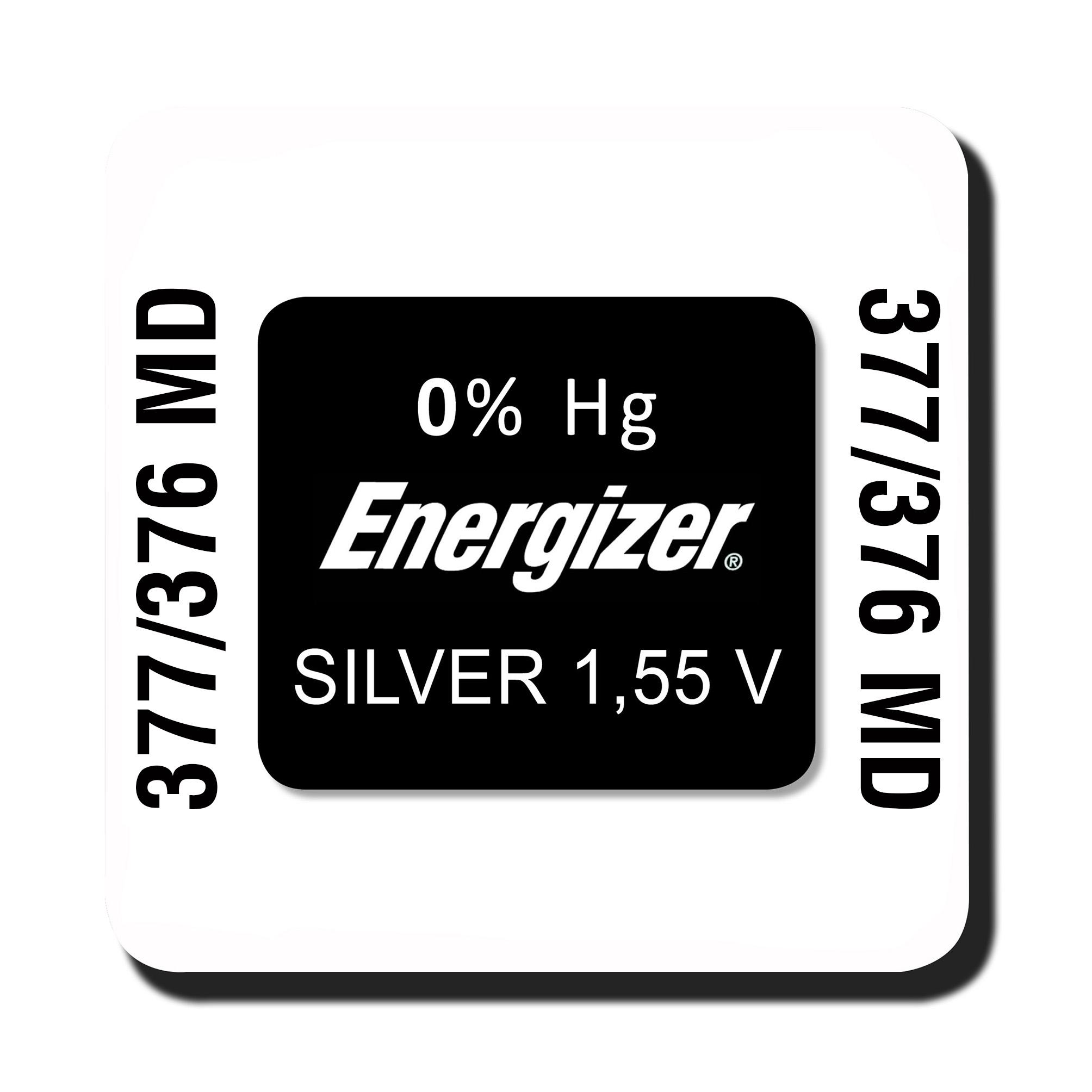 Energizer 377/376 knoopcel