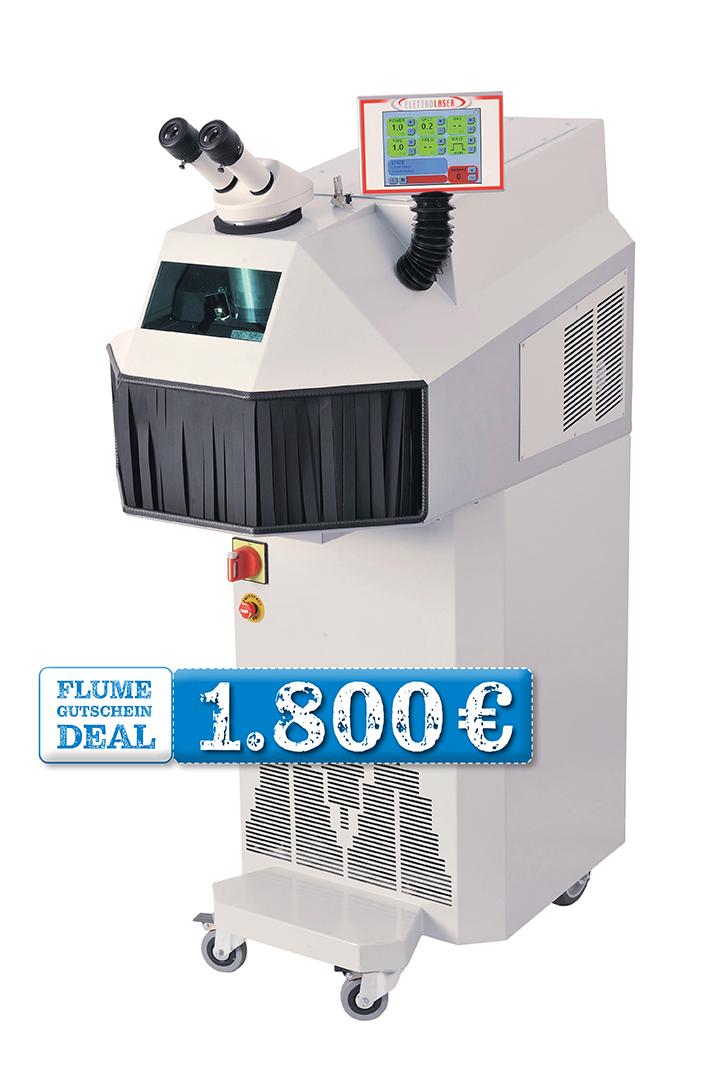 JETZT 1.800€-GUTSCHEIN SICHERN: Kompakt-Schweißlaser Mega 200