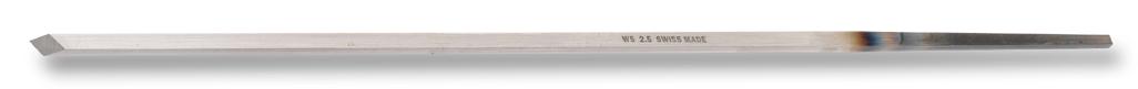 Handdrehstichel mit rautenförmigen Querschnitt WS 2,0 mm