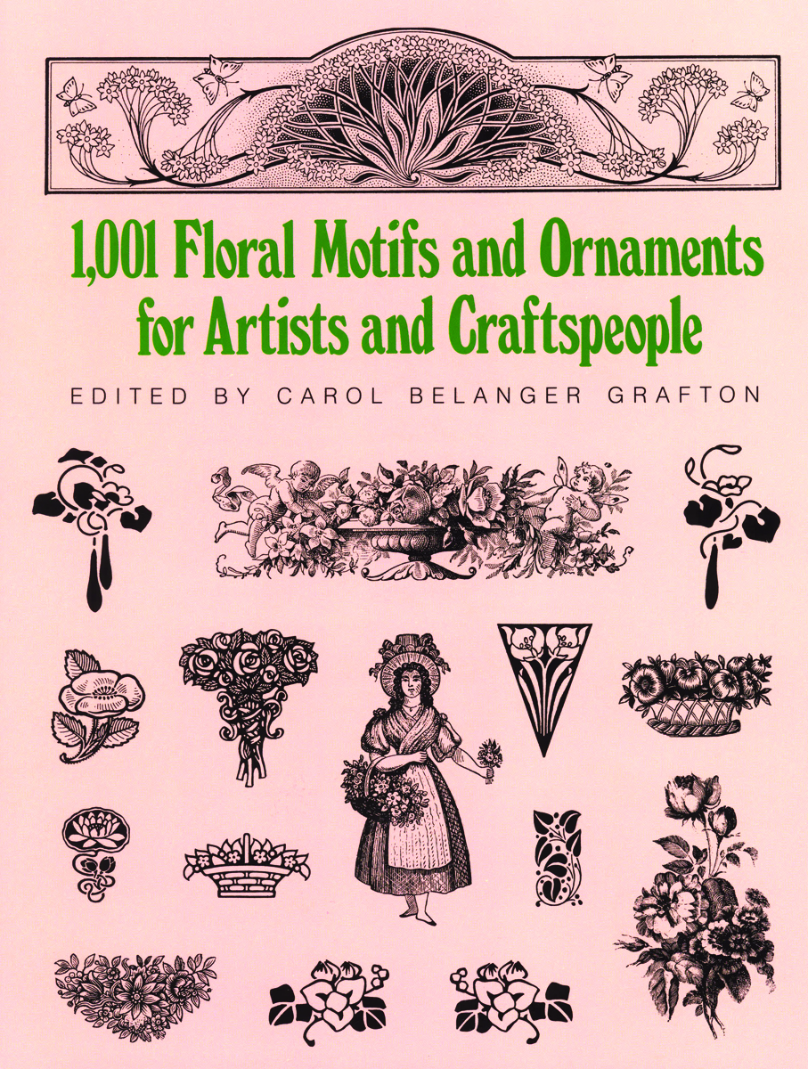 boek 1.001 Floral Motifs and Ornaments for Artists and Craftspeople