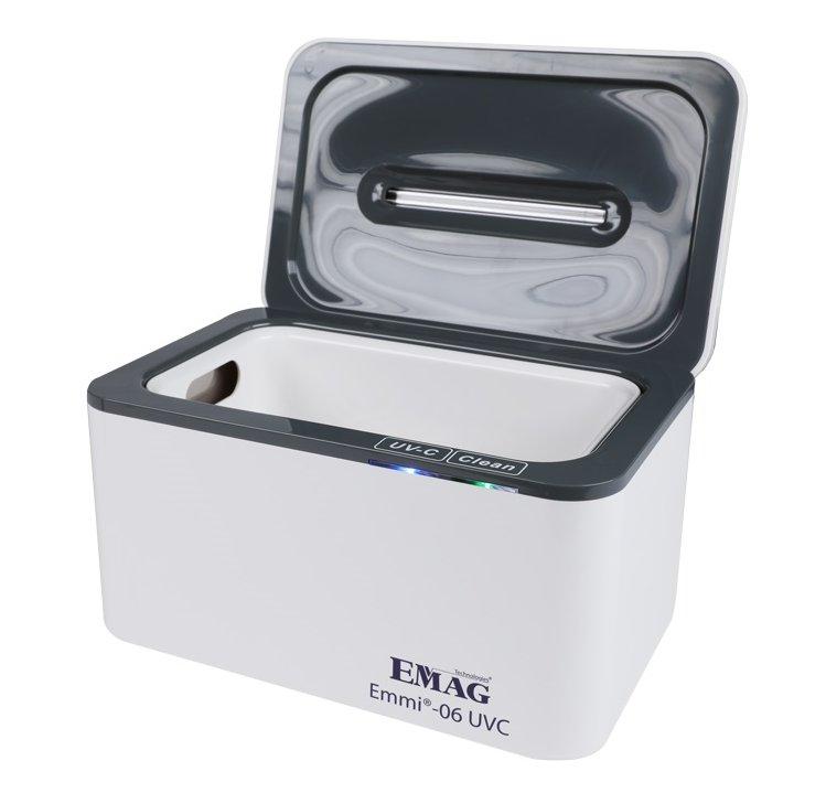 Ultrasoon apparaat met UV-C desinfectie