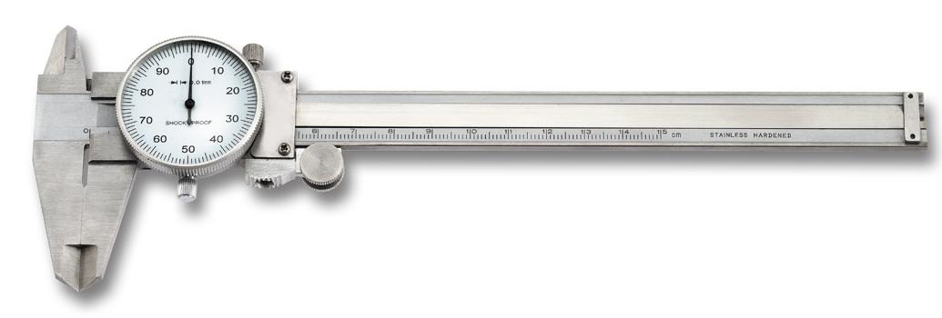 Schieblehre 150 mm mit Messuhr